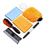 Best Car Wash Supplies - Car Cleaning Tool Kit by Scrub it- squeegee Review
