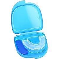 Alomejor Protector de Dientes Protector bucal Transparente Protector de Dientes Protector bucal Dental para el Protector de Goma Kick Boxing