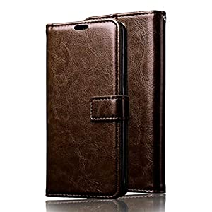BROSIA Flip Cover Case for Samsung Galaxy M31 | Premium Leather | Inner TPU | Foldable Stand | Luxury Look Wallet Card…