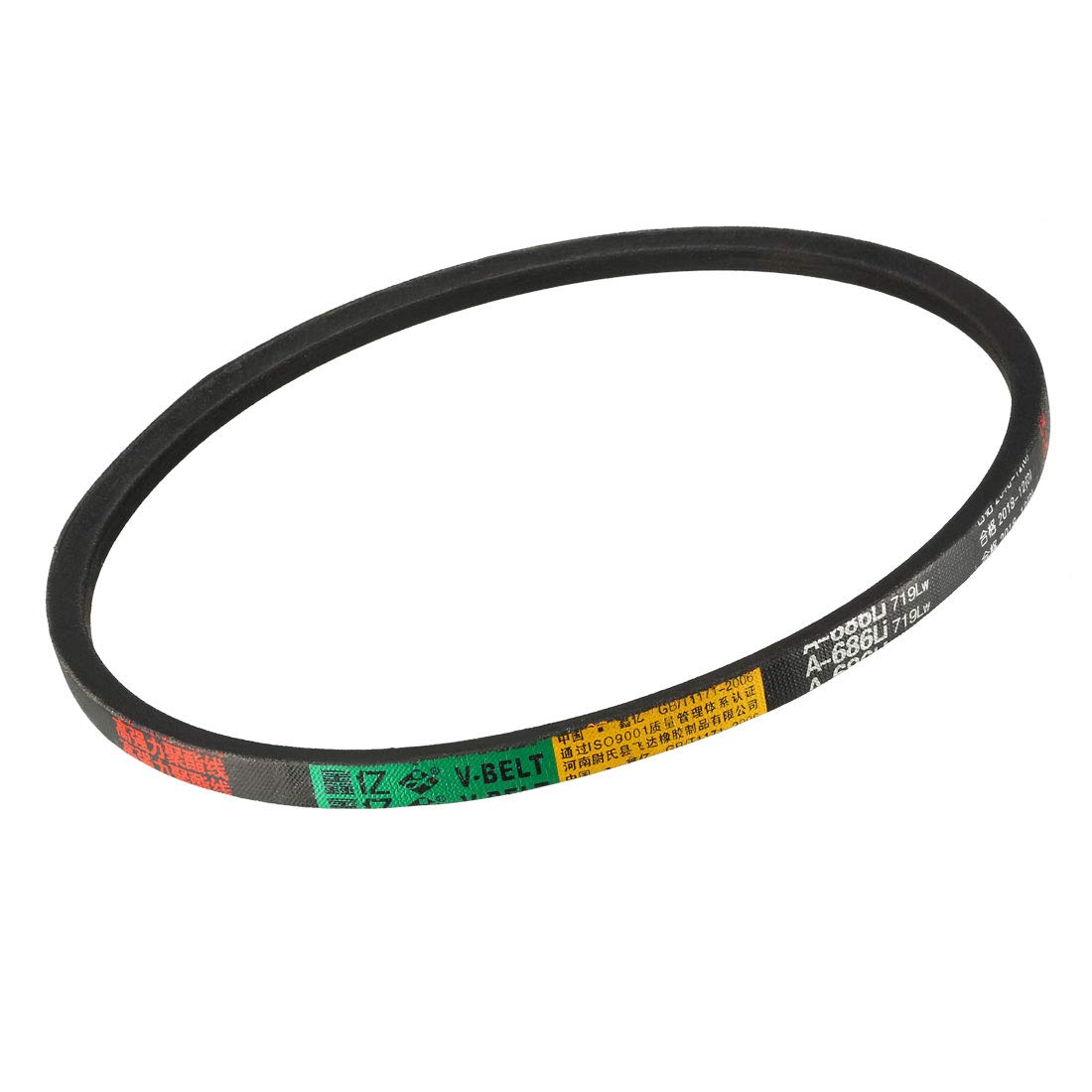 sourcing map A-980//A38 Drive V-Belt Inner Girth 38-inch Industrial Power Rubber Transmission Belt