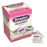 Case Pack - Benadryl, 12 Boxes of 60 Doses of 2 Tablets (720 total doses)