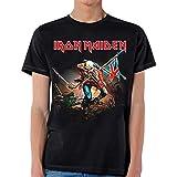 Iron Maiden - Mens The Trooper T-shirt Medium Black
