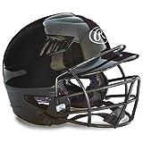 Rawlings Youth Batting Helmet Face Guard in Black