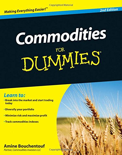 Commodities For Dummies by For Dummies