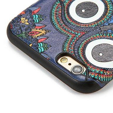 Fundas y estuches para teléfonos móviles, Para la manzana 7 del iphone de la manzana 7plus cubren la caja suave de la contraportada del patrón de la cubierta del búho 6s más 6 más ( Modelos Compatible IPhone 6s/6