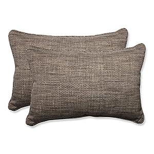 Pillow Perfect Outdoor/Indoor Remi Patina Over-Sized Rectangular Throw Pillow (Set of 2)
