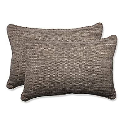 Pillow Perfect Outdoor/Indoor Remi Patina Over- Over-Sized Rectangular Throw Pillow - Includes two (2) outdoor pillows, resists weather and fading in sunlight; Suitable for indoor and outdoor use Plush Fill - 100-percent polyester fiber filling Edges of outdoor pillows are trimmed with matching fabric and cord to sit perfectly on your outdoor patio furniture - patio, outdoor-throw-pillows, outdoor-decor - 51HvaCtR1%2BL. SS400  -