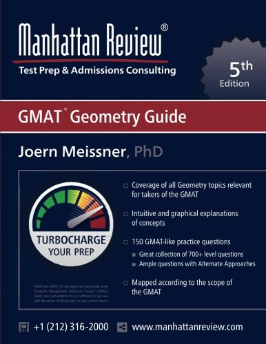 Manhattan Review GMAT Geometry Guide [5th Edition]: Turbocharge your Prep
