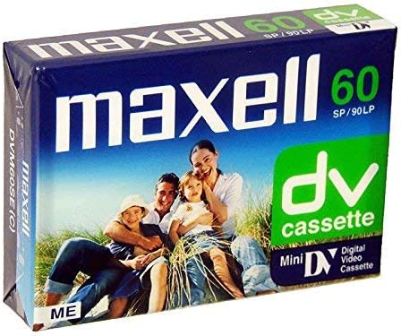 Maxell DV60 Tape