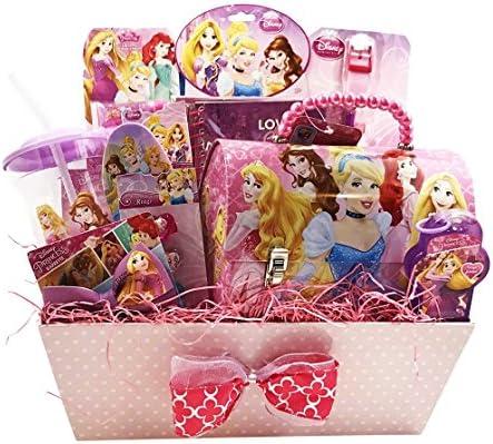 Amazoncom Girls Gift Baskets Disney Princess Themed