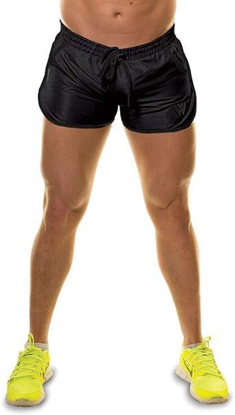 TALLA L. Aspire Wear Shorts para Gimnasio natación Logotipo Brillante y Atrevido Aptos para Nadar y Entrenamiento