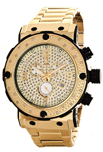 Aqua Master Mens Diamond Two Tone Watch 0.20ct w-146