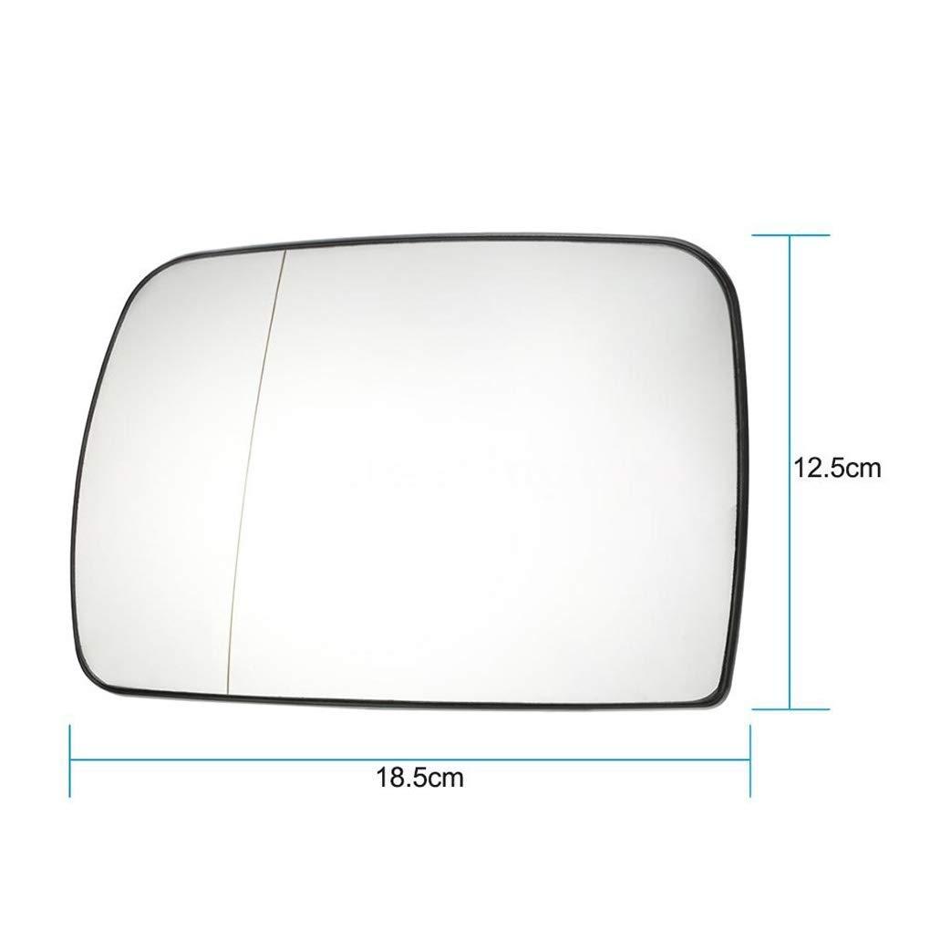 Ben-gi C/ôt/é Droit ext/érieur Chauffant R/étroviseur Rearview Remplacement de Verre Miroir pour X5 E53 99-06 51168408810