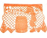 El Chavo del Ocho Party Jointed Banner Favor Happy Birthday Decoration Supplies (1 Piece),33 feet, Multicolor Papel picado