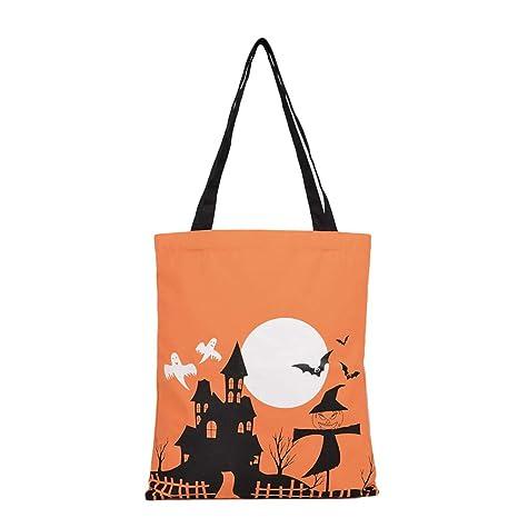 Amosfun - Bolsa de tela para regalo de Halloween: Amazon.es ...