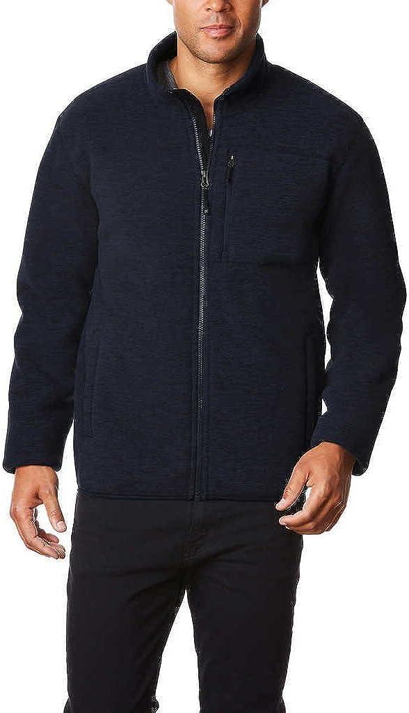 32 DEGREES Men Fleece Sherpa Jacket