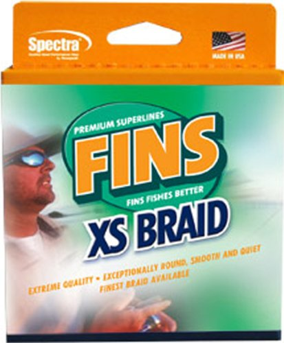 - Fins Spectra 1500-Yards Extra Smooth Fishing Line, Dark Green, 30-Pound