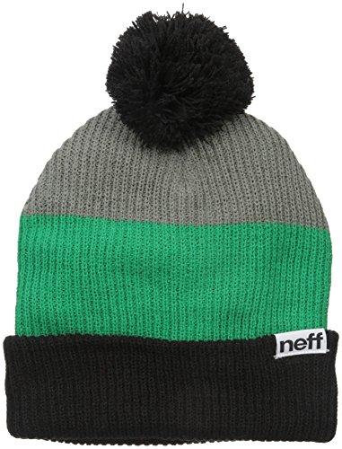 Neff Gorro Grey para Snappy Green Black hombre Beanie wTqZw6