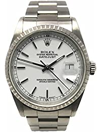Datejust swiss-automatic mens Watch 16220 (Certified Pre-owned)