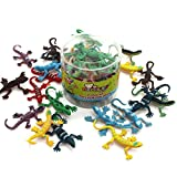 "MICHLEY 20pcs 1.7"" Plastic PVC Toy Lizards"
