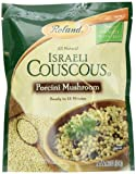 Roland Israeli Couscous Porcini Mushroom, 6.3 Ounce (Pack of 6)