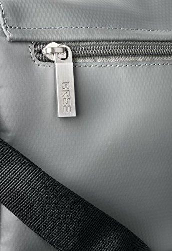 BREE - Bolso al hombro para hombre gris gris 26 cm x 19 cm x 7 cm (B x H x T) gris