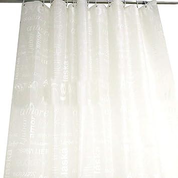 Amazon Binmer ClearanceBath Shower Curtain Liner Clear Non