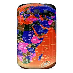 Shock-dirt Proof Night Globe Case Cover For Galaxy S3