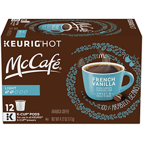 McCafe French Vanilla Keurig K Cup Coffee Pods (72 Count, 6 Boxes of 12) (Mc Donalds Barbecue)