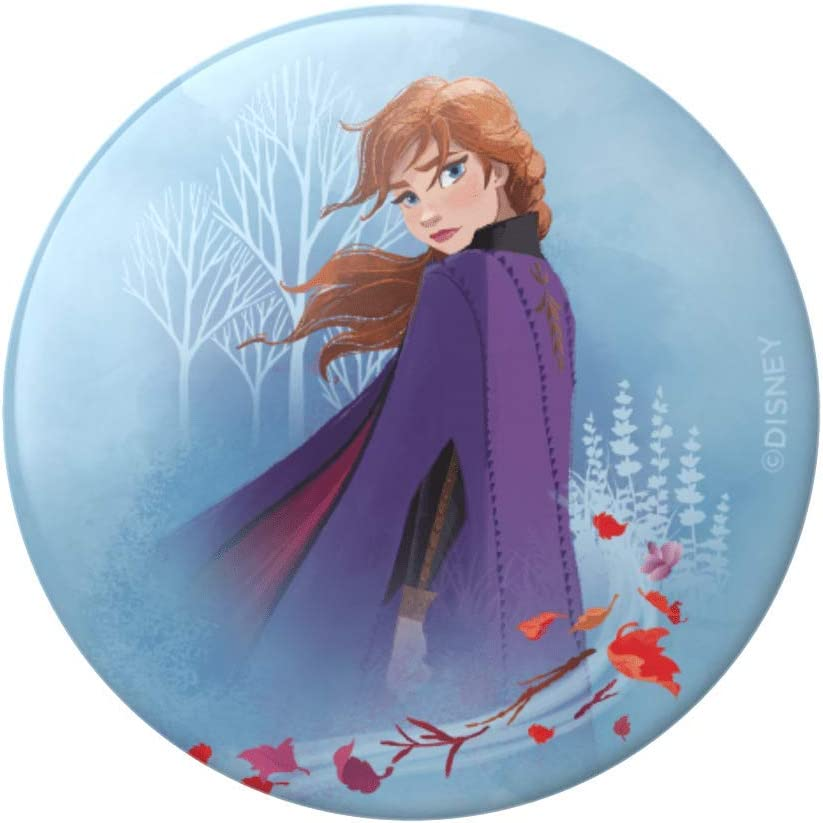 PopGrip with Swappable Top for Phones /& Tablets Anna Forest Gloss PopSockets Frozen