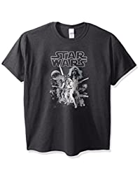 Star Wars Mens Official 'Poster' Premium Ringer Graphic Tee