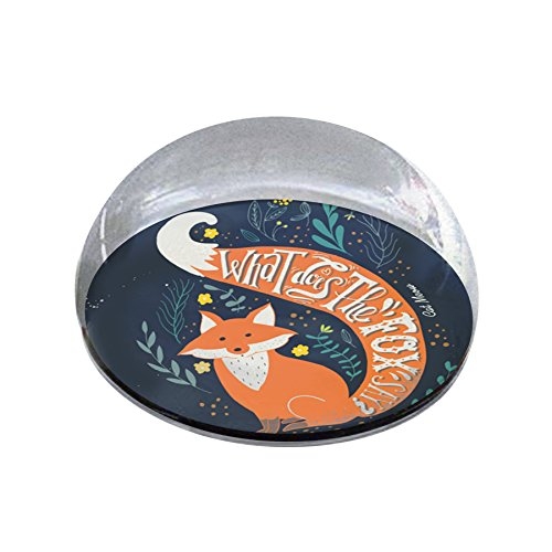 """Forever Crystal """"Fox Say Pet Memorial Magnet from Forever Crystal"""