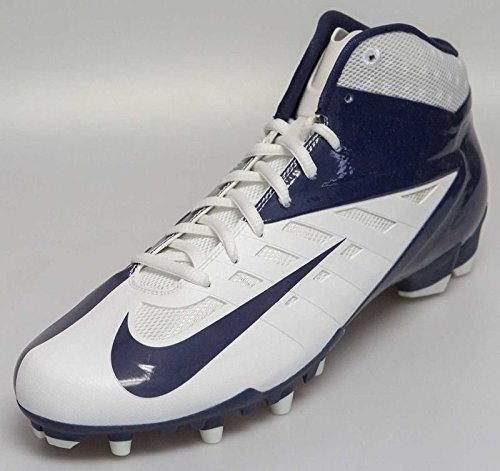 New NIKE Vapor Pro 3/4 TD Football Cleats Blue & White Fo...