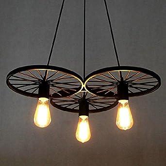 BAYCHEER Retro Industry Design Pendelleuchte Im Loft Style, Esszimmer  Vintage Retro Hängeleuchte Lampe,