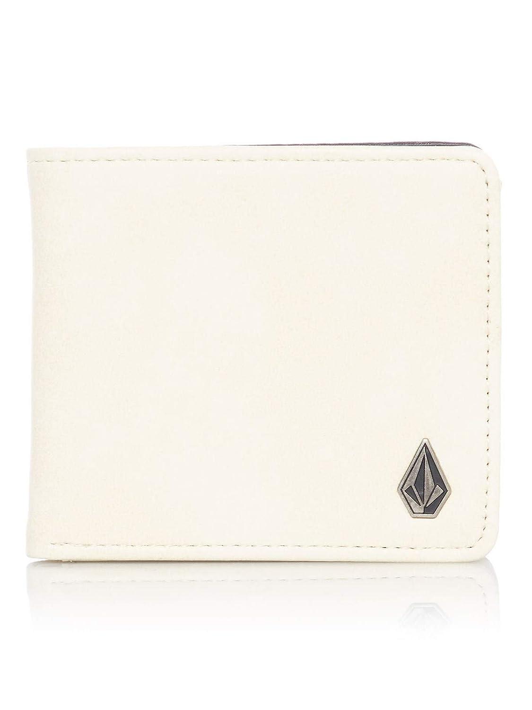 Volcom Dirty White Slim Stone PU Bifold Wallet White)