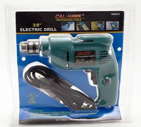 Cal Hawk Tools BZED3/8 Electric Drill by Cal Hawk Tools