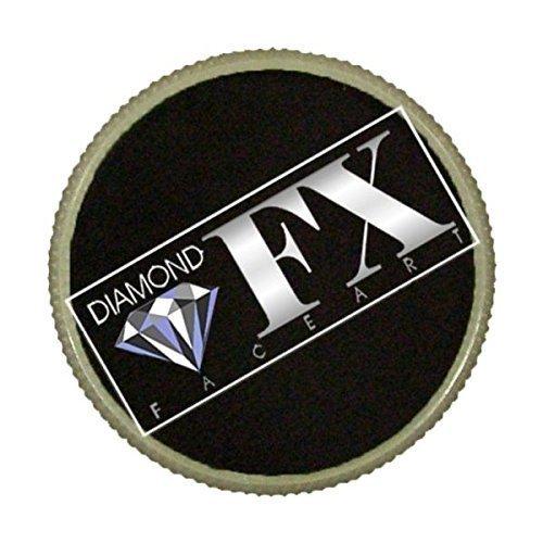 Diamond FX Essential Face Paint - Black (90 gm) ()