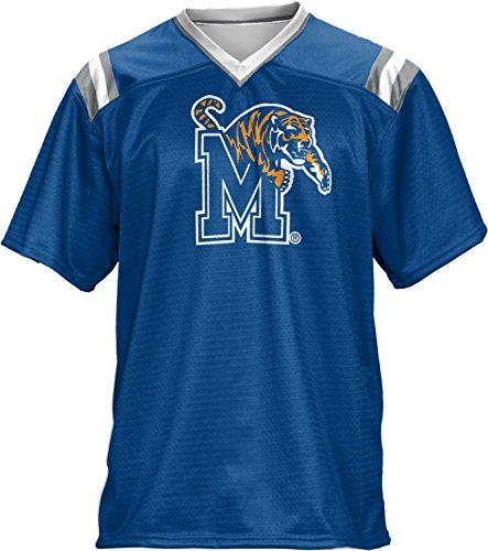 ProSphere Men's University of Memphis Goal Line Football Fan Jersey - Tn Shopping Memphis