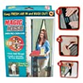 Magic Mesh Hands-Free Screen Door with magnets from CNS