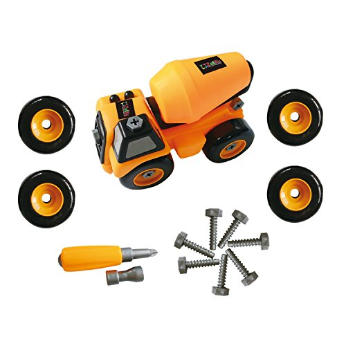 Trucks Boys Toys Age 3 : Construction toy trucks take apart tool set best kids