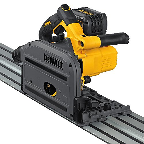 "DEWALT DCS520T1 Flexvolt 60V MAX 6-1/2"" (165mm) Cordless TrackSaw Kit"