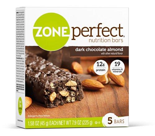 zone dark chocolate almond - 1