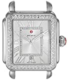 MICHELE Women's 'Deco Head' Swiss Quartz Stainless Steel Casual Watch(Model: MW06T01A1018)