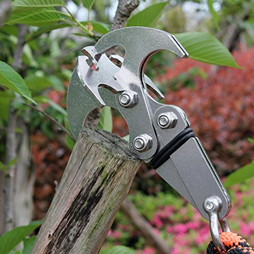 Multifunctional Stainless Survival Grappling Carabiner
