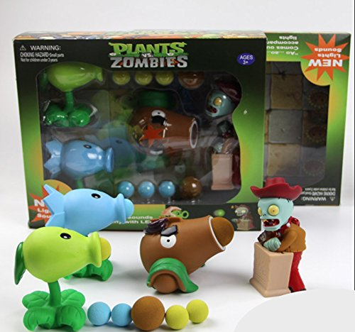 Plants Vs Zombies Gift Box: Peashooter, Snowpea, Coconut -