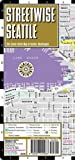 Streetwise Seattle Map - Laminated City Center Street Map of Seattle, Washington (Michelin Streetwise Maps)