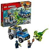 LEGO UK 10757 Jurassic World Raptor Rescue Truck Set