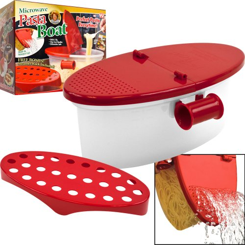 Microwave Pasta Boat- Perfect Pasta Every Time