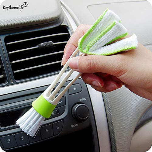 Car Clean - Car Washer Microfiber Cleaning Brush Cleaner Computer Clean Blinds Duster Care D - Extender Cleaning Outdoor Carpet Makeup Concrete Pole Grill Tool Separation Dispenser Head Mac