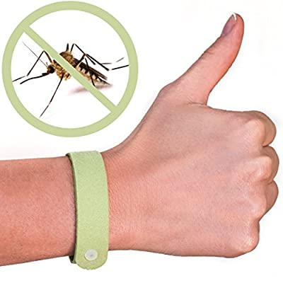 Buzz Off 100 Natural Mosquito Repellent Bracelets Five 5 Pack